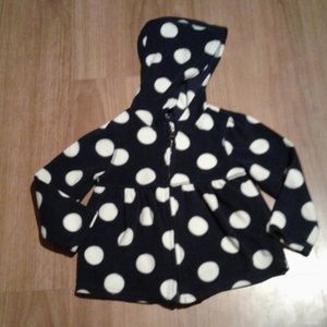 toddler Old Navy fleece jacket with good size 2T
